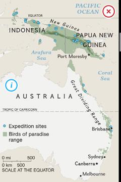 BirdsParadise Map