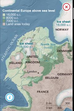 Doggerland... Doggerland-map