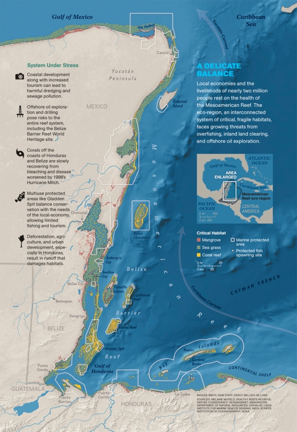 Mesoamerican Reef Map_MM7894