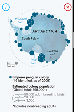 Penguins map